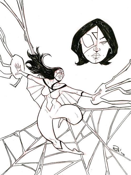 SpiderWoman Sketch