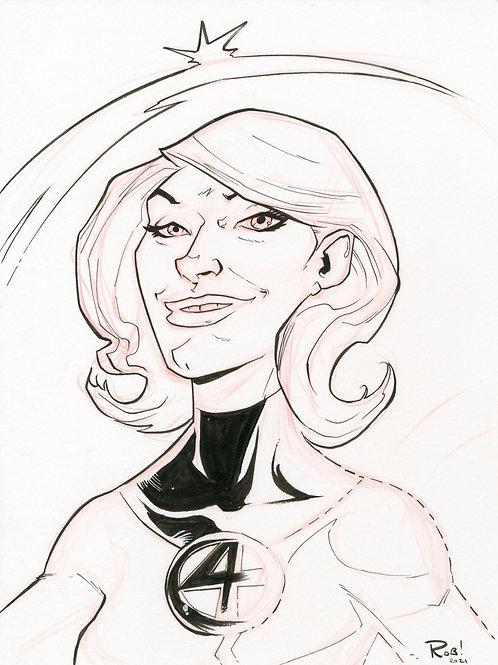 Sue Storm Sketch