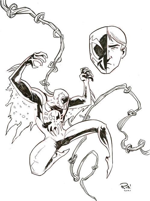 Spider-Man 2099 Sketch