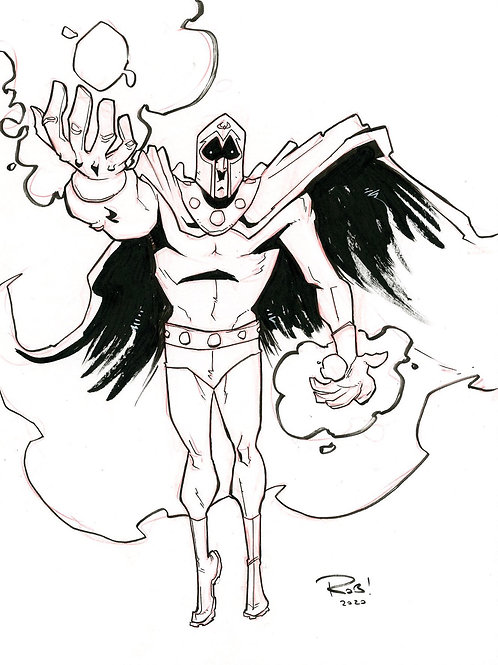 Magneto Sketch