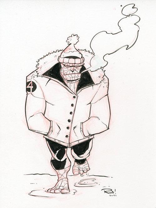 Thing Winter Sketch