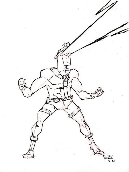 90s era Cyclops Sketch