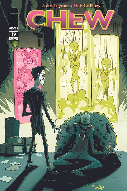 CHEW #19 Glow in the Dark Variant SIGNED