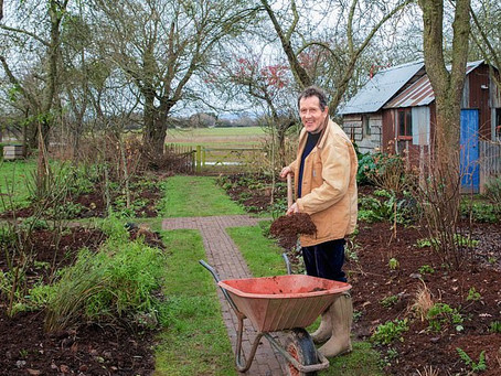 Love you so mulch! Valentine's Day puts Monty Don in the mood for mulching