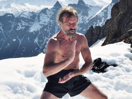 An interview with Wim Hof, the 'Iceman' wellness guru who claims cold showers are the key to a happy