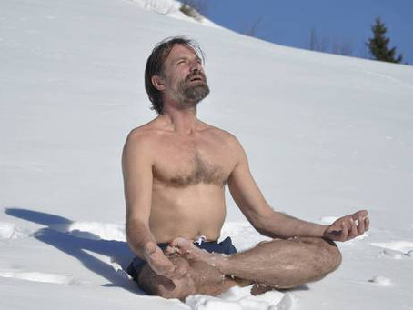 Wim Hof's Iceman Cult invites travellers into freezing waters