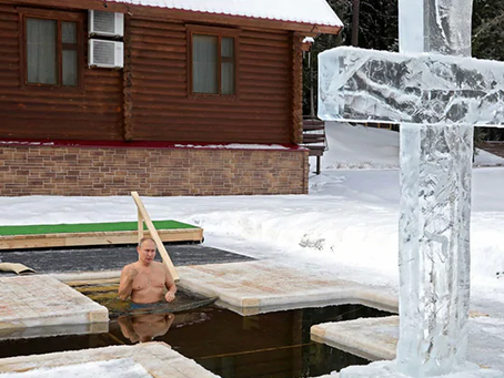 Why Russia's Vladimir Putin Took A Dip In Icy Water, Wearing Nothing But Swimming Trunks