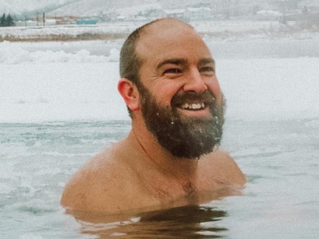 Cold comfort: Alberta man finds peace in Peace River ice baths