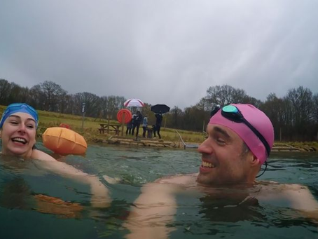 Can cold water swimming treat depression?
