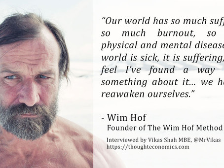 A Conversation with Wim Hof, 'The Iceman'