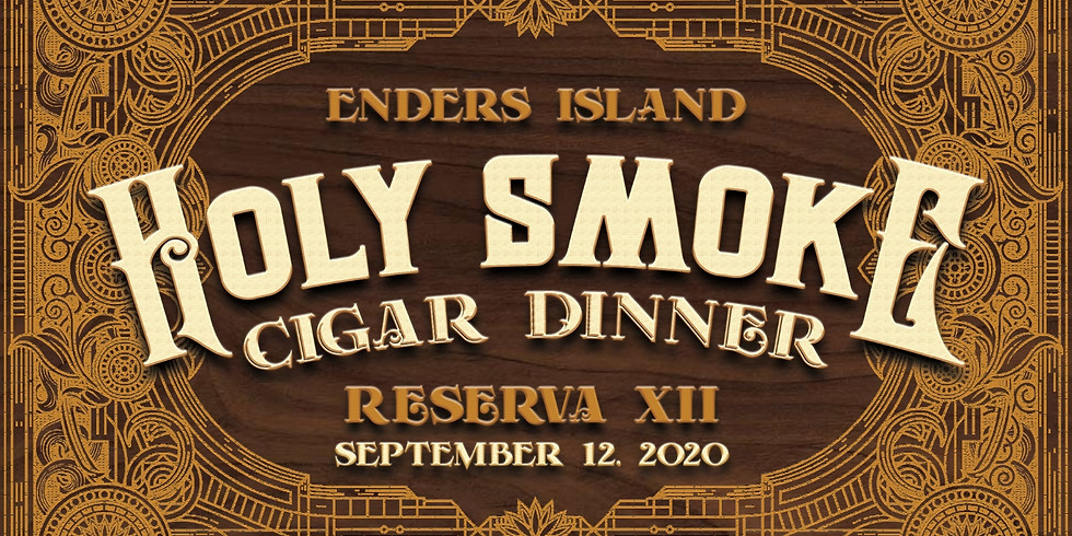 Holy Smoke Cigar Dinner Reserva XII
