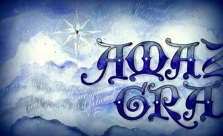 Amazing Grace, A Calligraphy  Adventure