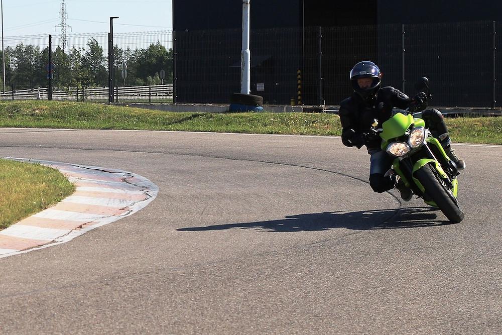 Прогресс в вождении мотоцикла