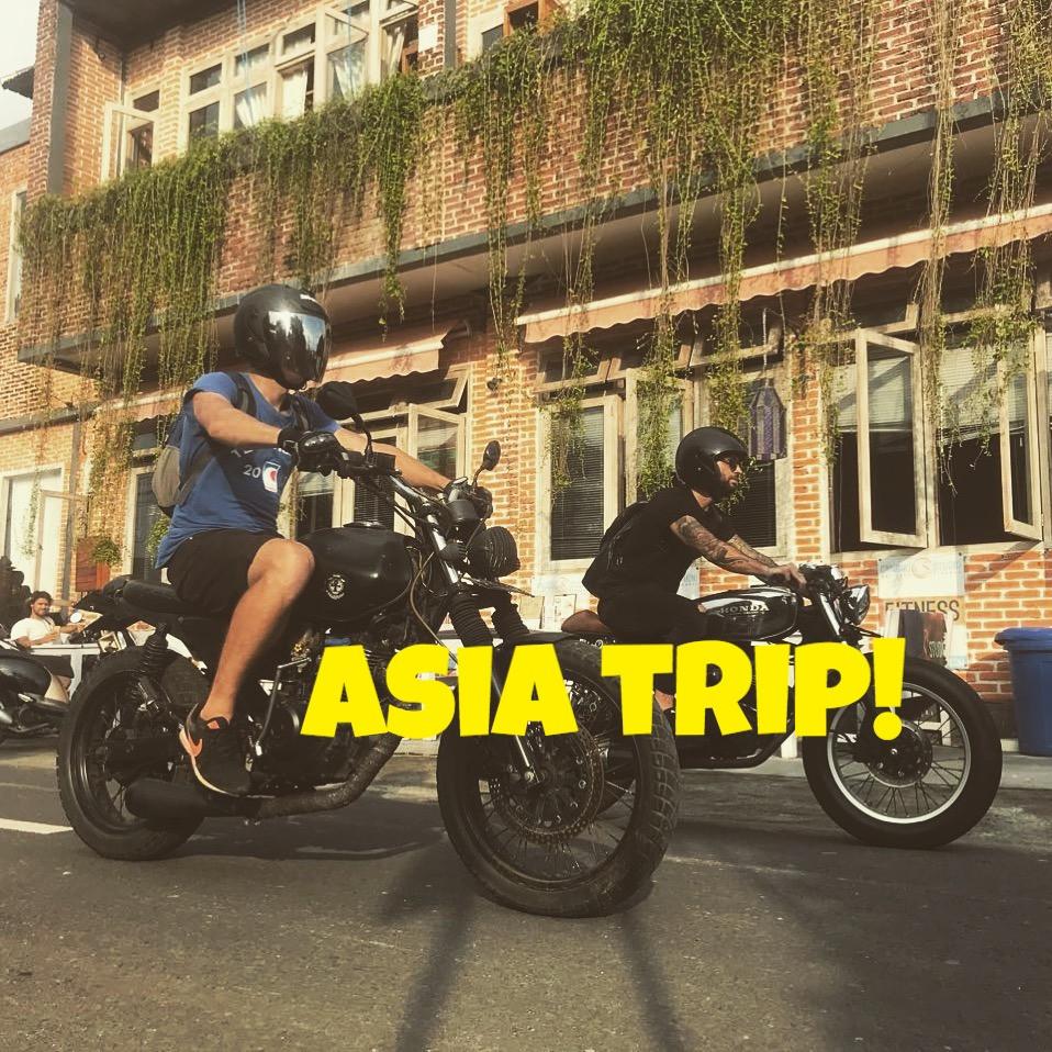 Прохват по Азии на байках