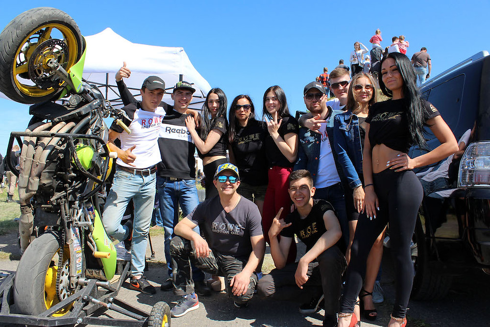 Команда ROWE в Калининграде