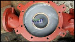 Sea water pump casing