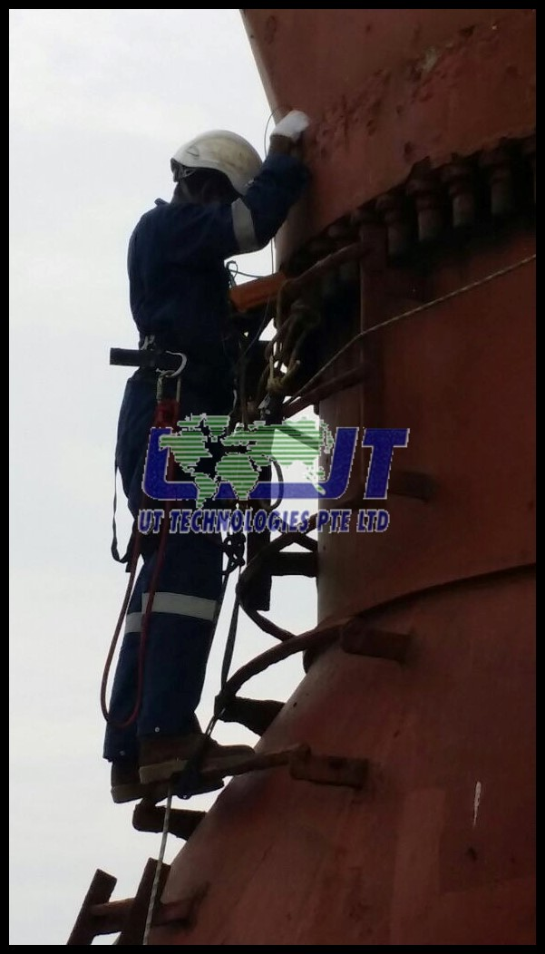 NDT eddy current test