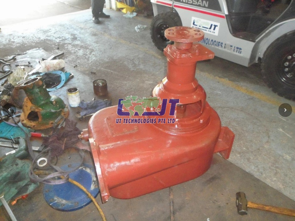 New pump housing (after)