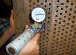 Vacuum leak test