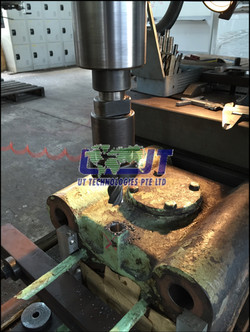 Repair of main engine exhaust valve