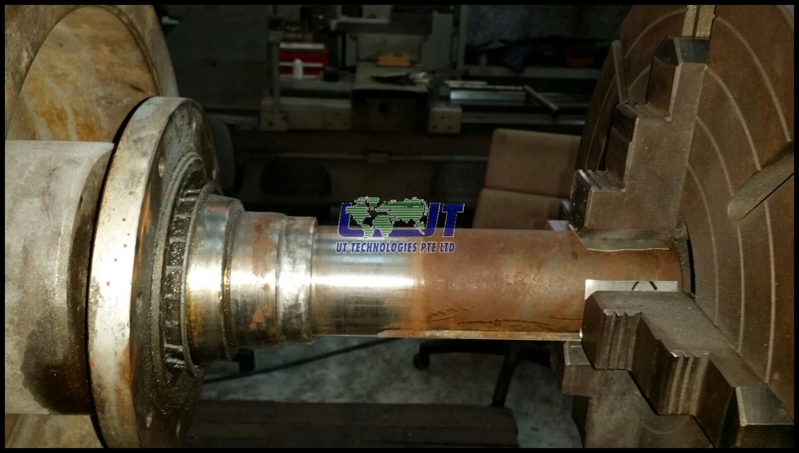 Reconditioning of cargo pump shaft