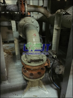 Blanking of shipside overboard valve
