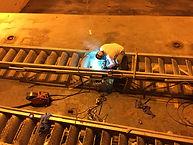 Gangway Repairs Onboard Vessel