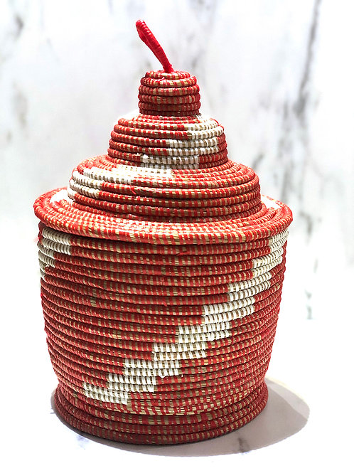 Senegalilainen kori / kakku 3