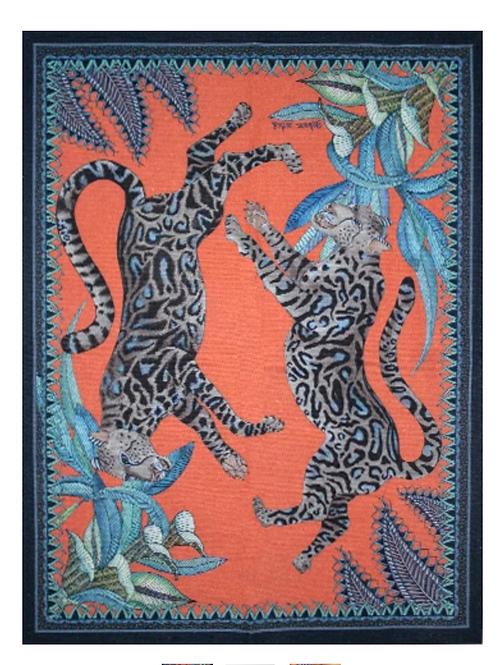 Ardmore Cheetah Kings Coral keittiöpyyhe