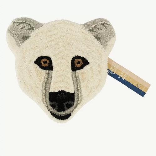 Doing Goods Eläinpäämatto Kasbah Polar Bear