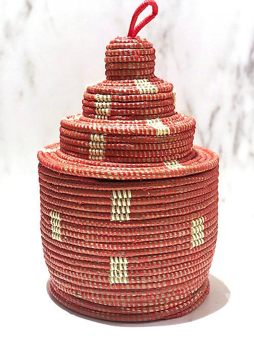 Senegalilainen kori / kakku 2