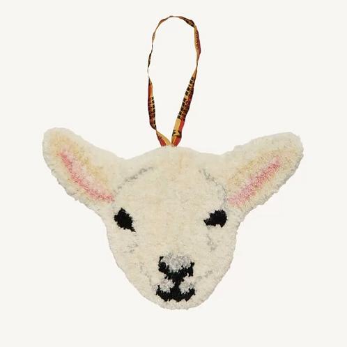 Doing Goods Eläinpääkoriste Woolly Lamb lammas