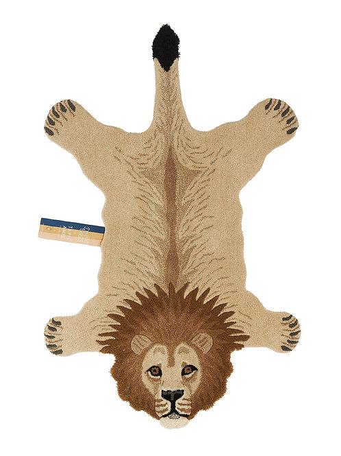 Eläinmatto iso Leijona