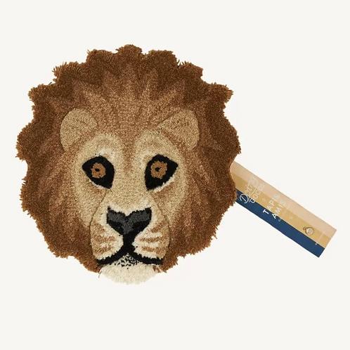 Doing Goods Eläinpäämatto Moody Lion