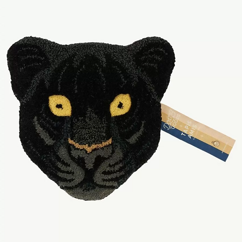 Doing Goods Eläinpäämatto Fiery Black Panther