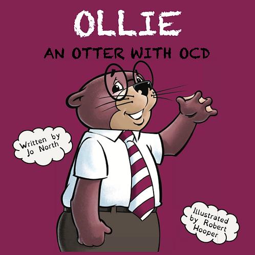 Ollie, an otter with OCD