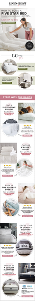 2020 Staycation White Bedding