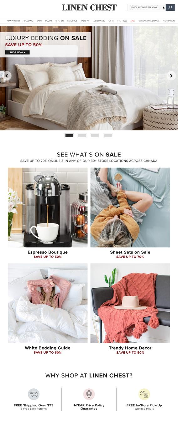 Homepage Refresh 2018
