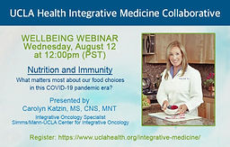 Wellbeing Webinar: Nutrition and Immunity