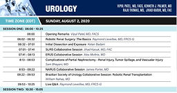 World Robotic Symposium 2020 - Urology - Day 2