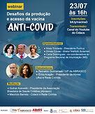 Desafios da produção e acesso da vacina Anti-Covid