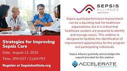 Strategies for Improving Sepsis Care