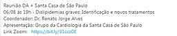 Reunião DA + Santa Casa de São Paulo