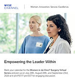 Women in da Vinci Surgery Virtual Series - Harnessing your Strengths for Leadership in Medicine