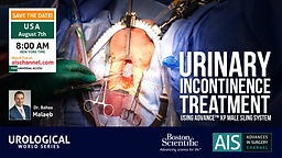 Urinary Incontinence Treatment Using Advance XP Male Sling System