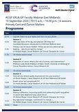 Cancer Research UK Faculty Webinar East Midlands