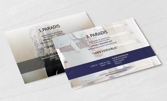 Paris Showroom Invitations