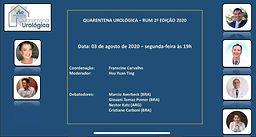 Quarentena Urológica - RUM 2ª Edição 2020