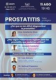 PROSTATITIS Tabú urológico
