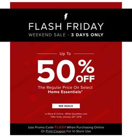 Flash Sale Refresh